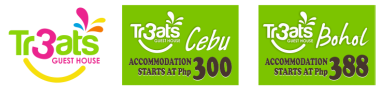TR3ATS Guest House - Fresh, clean hostel and inn, Cebu and Bohol